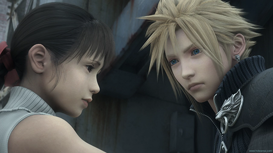 Final Fantasy VII - Advent Children.