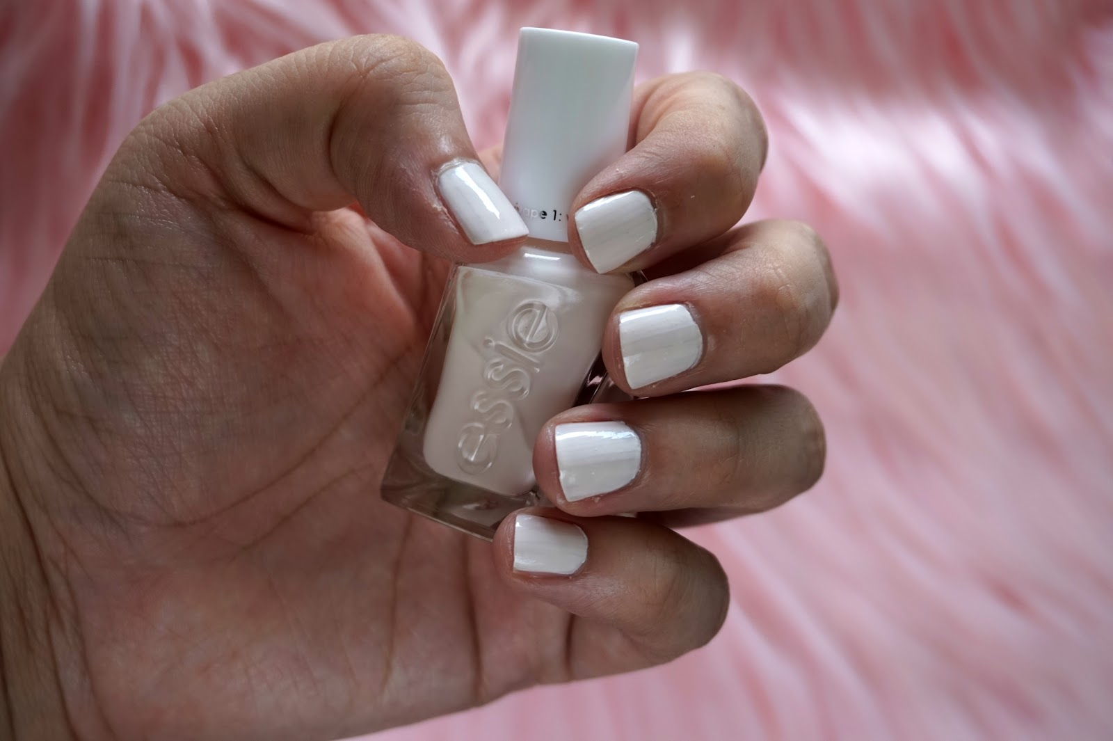 Essie Gel Couture Polish in Pre-Show Jitters | Best Nail Polishes To Wear All Year // Beauty With Lily, A West Texas Beauty, Fashion & Lifestyle Blog