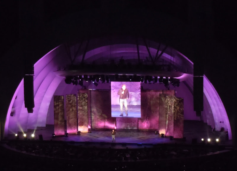 Eddie Izzard Hollywood Bowl