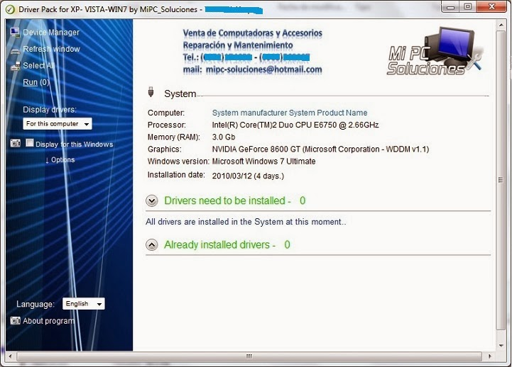 Download Cobra Driver Pack 2013 For XP / Vista / Win7 ISO