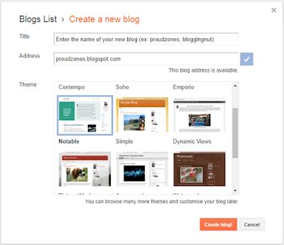 blog creating