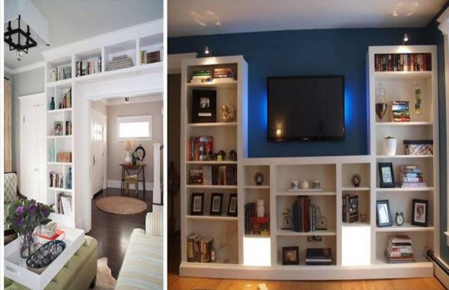 GENIUS IKEA BILLY HACKS FOR YOUR INSPIRATION - Home Interior Designs