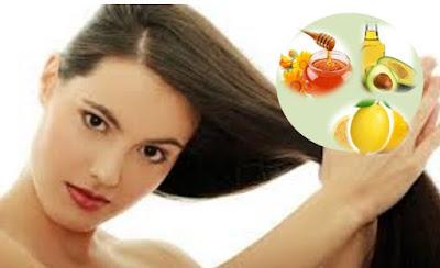 rambut yang kering perlu di rawat menggunakan cara alami