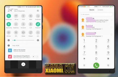 Tema Samsung Untuk Xiaomi Perfect S8 Light