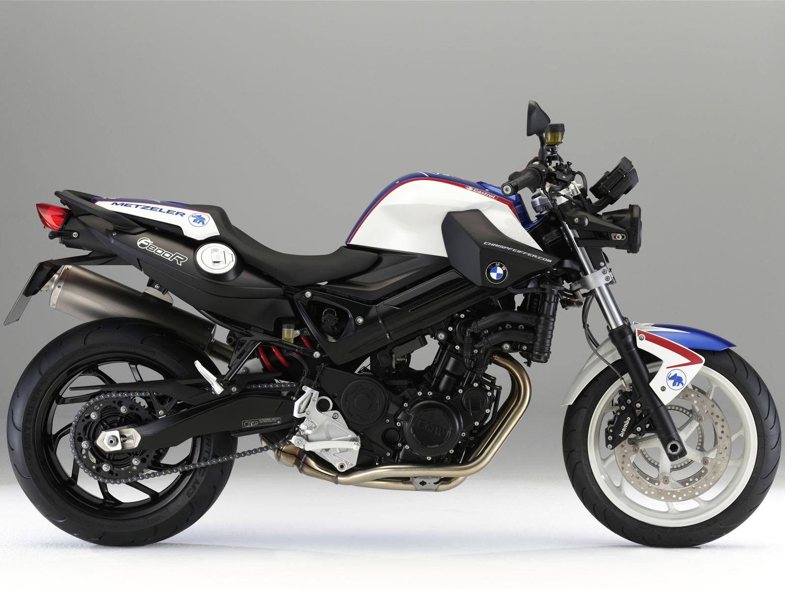 2009 BMW F800R Motorcycle Desktop Wallpaper