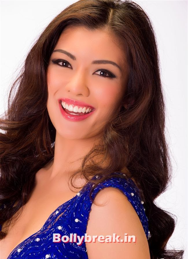 Miss Malaysia, Miss Universe 2013 Contestant Pics