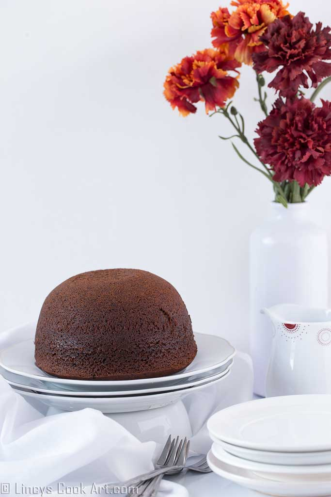 steamed chocolate sponge cake recipe
