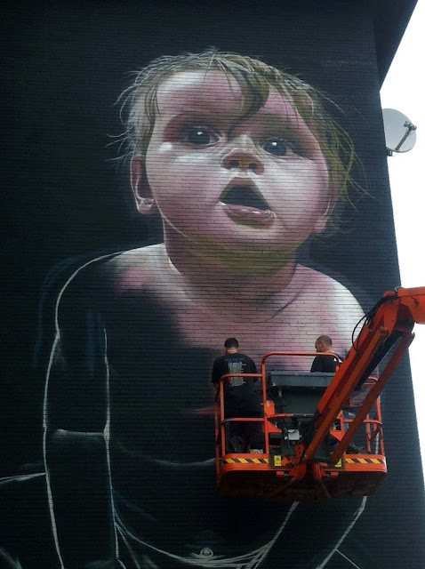 Street Art Mural By Telmo Miel For The Day One Festival In Antwerp, Belgium 2