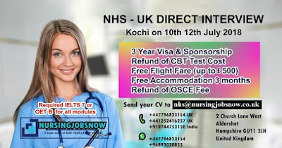 NHS-UK DIRECT INTERVIEW AT KOCHI