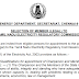Post of Member (Legal) to the Tamil Nadu Electricity Regulatory Commission - last date 15th May, 2019