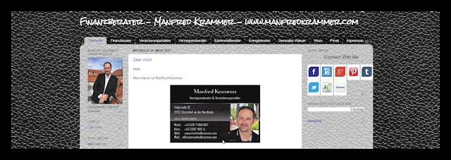 Finanzberater Manfred Krammer Über mich
