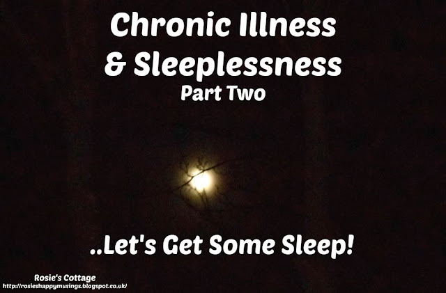 Chronic Illness & Sleeplessness - Lets Get Some Sleep