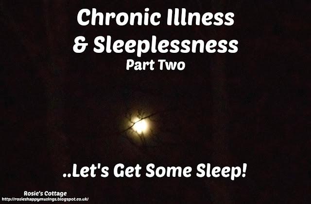 Chronic Illness & Sleeplessness - Lets Get Some Sleep