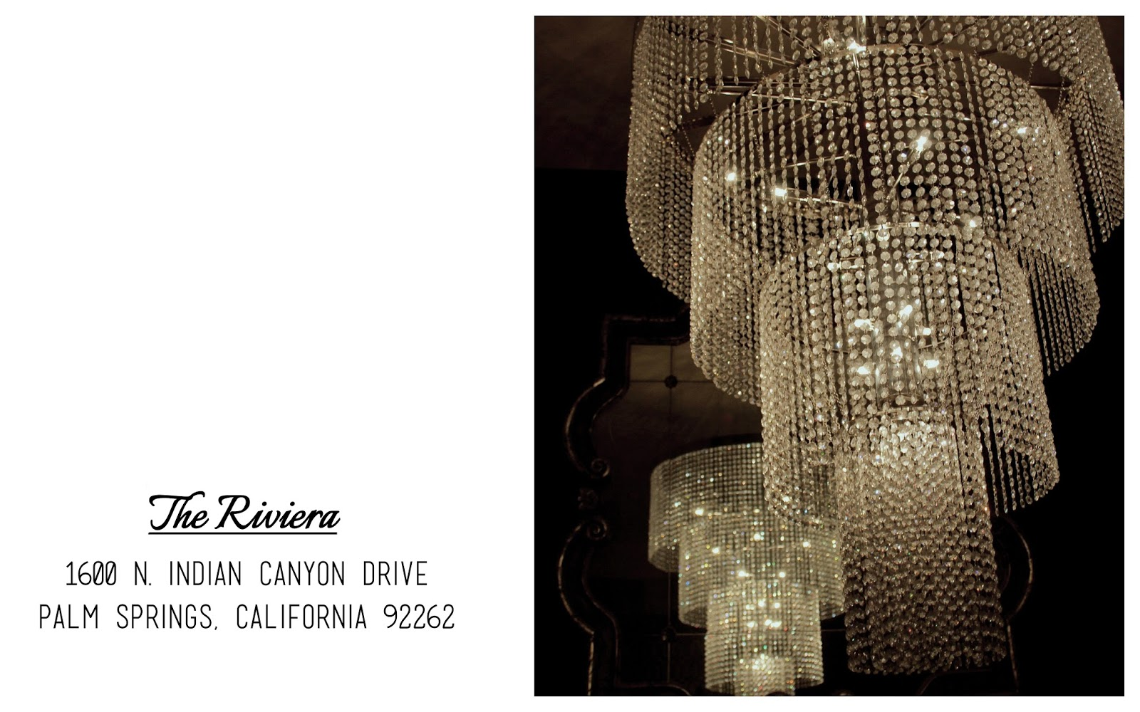 Luxe Stay | The Riviera Palm Springs