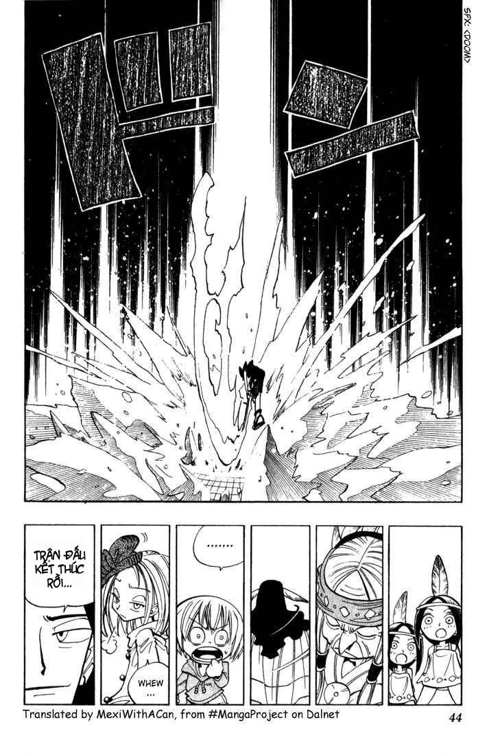 Shaman King [Vua pháp thuật] chap 37 trang 19