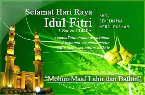 Ucapan Selamat Hari Raya Idul Fitri Orari Daerah D I Yogyakarta
