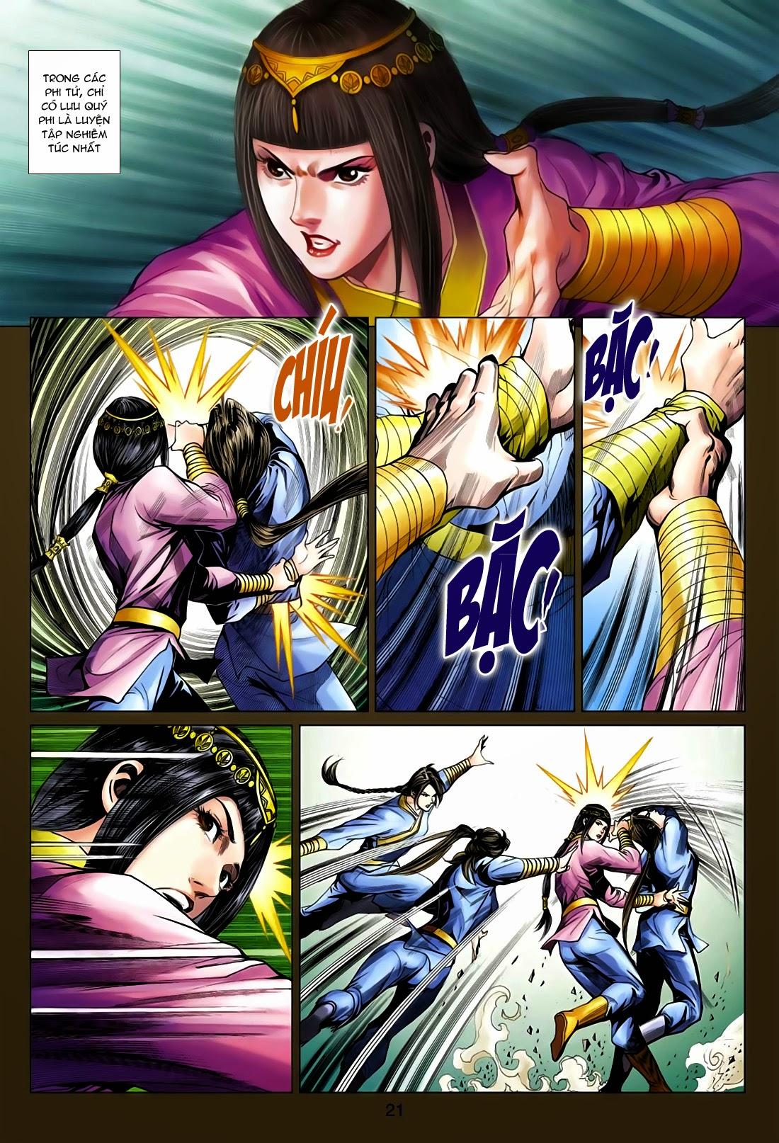 Anh Hùng Xạ Điêu anh hùng xạ đêu chap 75: hoàng thành cựu sự trang 21