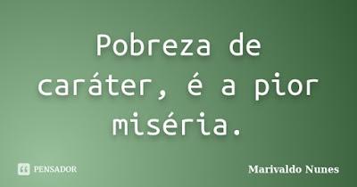 MARANHÃO - UM ESTADO DECADENTE DE UM POVO POBRE DE CARÁTER (NÃO AGE NEM REAGE)