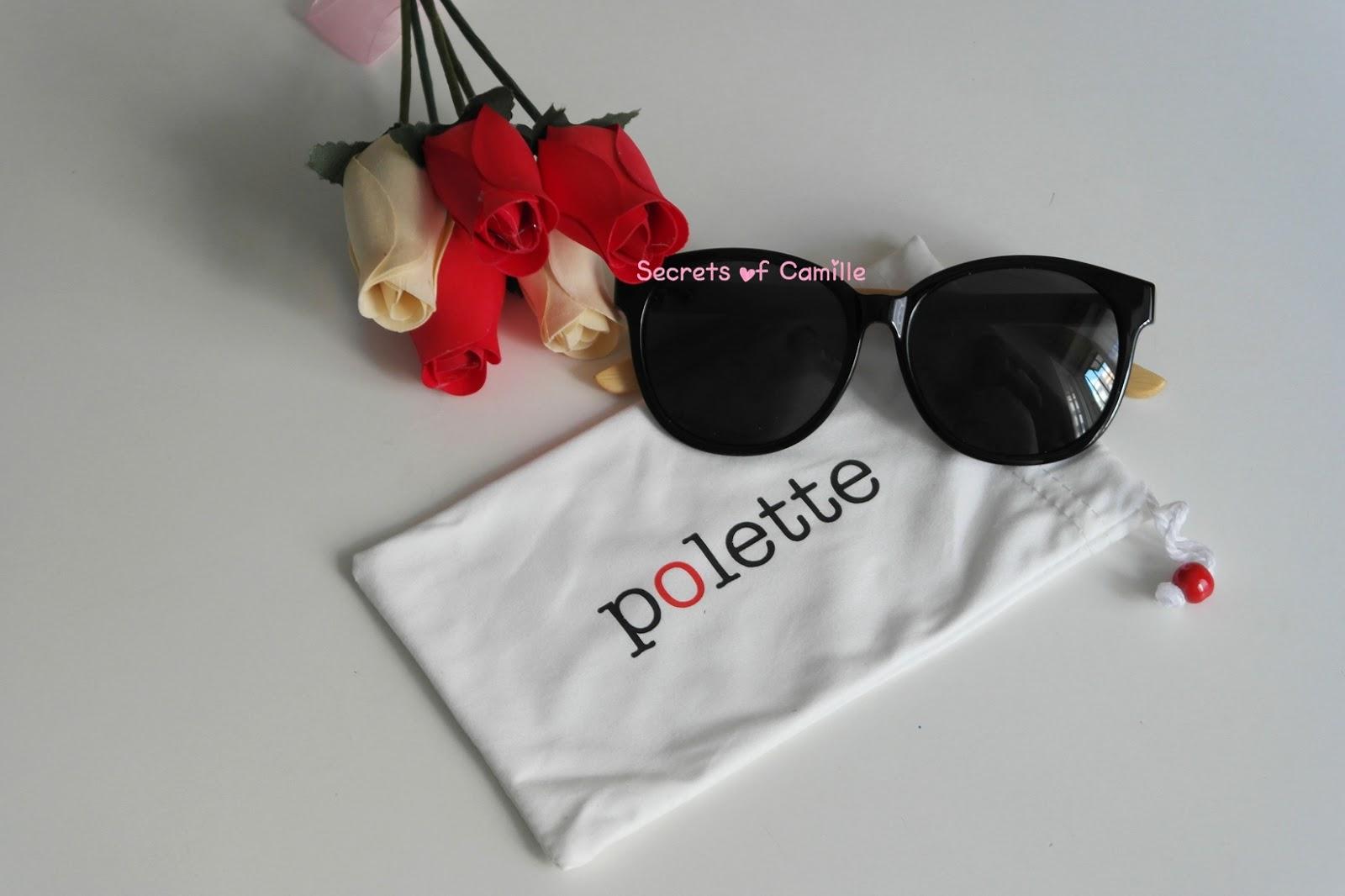 5689a399a2 Vorrei condividervi la mia recensione di un paio di occhiali da sole che ho  ricevuto da Polette tramite il giveaway da Chic on the Cheap.