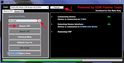 Download Dan Cara Menggunakan Bypass FRP Samsung Tool Pro Baru 2018, 2019-GSM FLasher Frp Tool Pro 2018