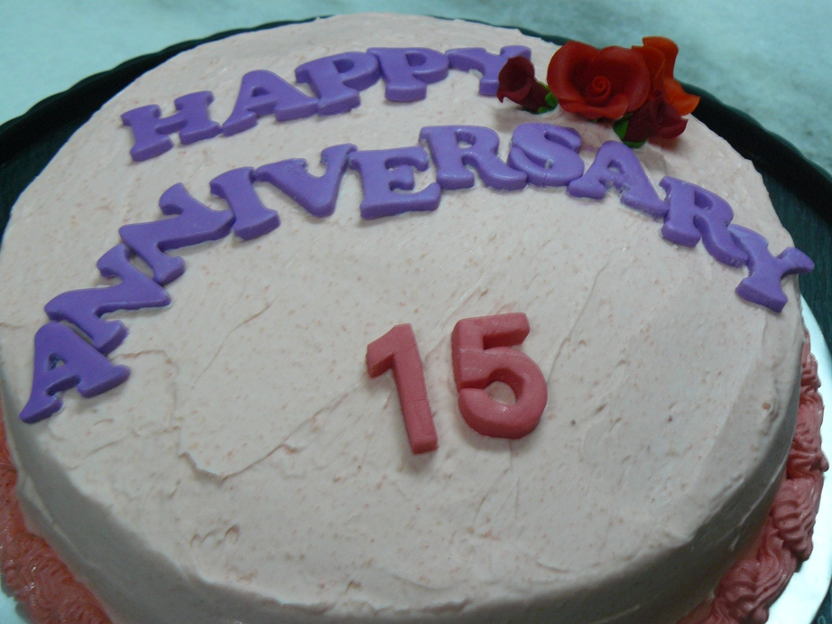 Th Anniversary Cake Gorgeous Picture