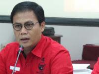 Wasekjen PDI Perjuangan Ahmad Basarah Sebut Airlangga Adu Domba Jokowi dan Megawati