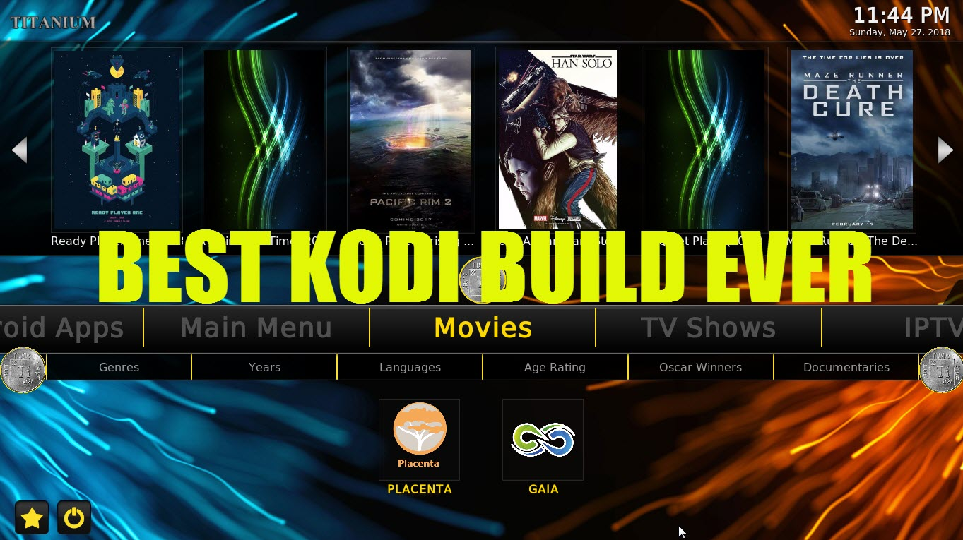 Best Kodi Build May 2020.The Best Kodi 17 6 Build Ever May 2018 Titanium Build
