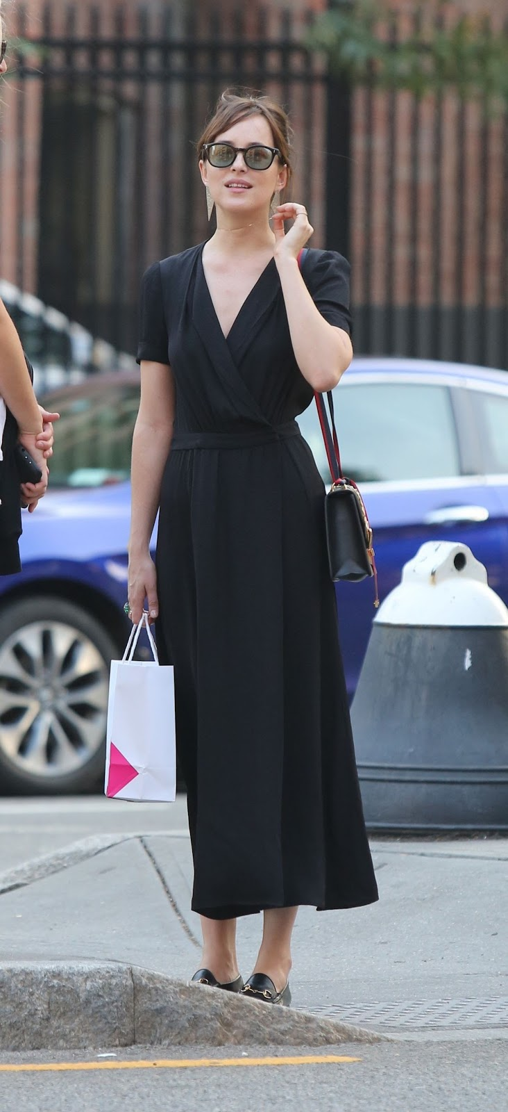 HQ Photos of Dakota Johnson Out Shopping In New York