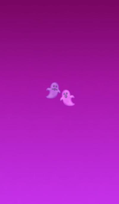Peach ghost cookie