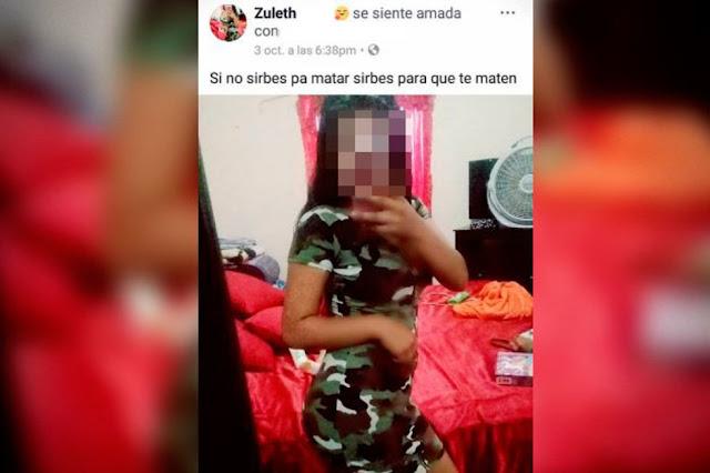 """Jovencita presumía su gusto por lo 'narco' en su Facebook, """"!Fierro!"""" escribió, su cadáver semidesnudo fue encontrado a la orilla de una carretera"""