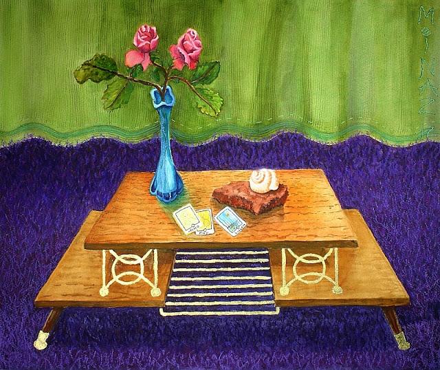 'Renter's Roses & Mind Playful Success Tarot' by Minaz Jantz