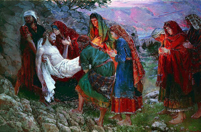 The Deposition in the Grave. 2005 » Marina Vostrikova