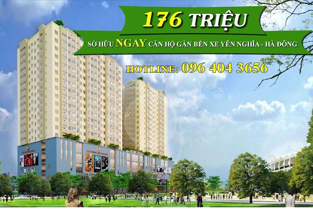 Tổng thể chung cư Lộc Ninh