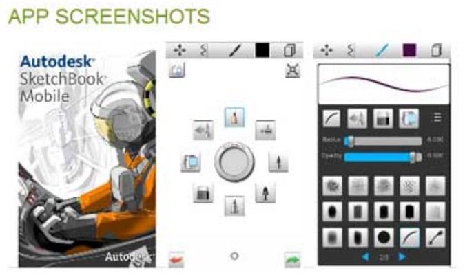 Aplikasi Vektor - Autodesk SketchBook