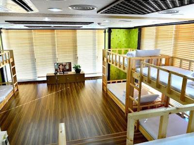 Dormitor for backpacker in Jeju Island
