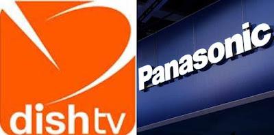 Panasonic India, DishTv, panasonic and dishtv, HD TV, DTH company, Full on HD Pack