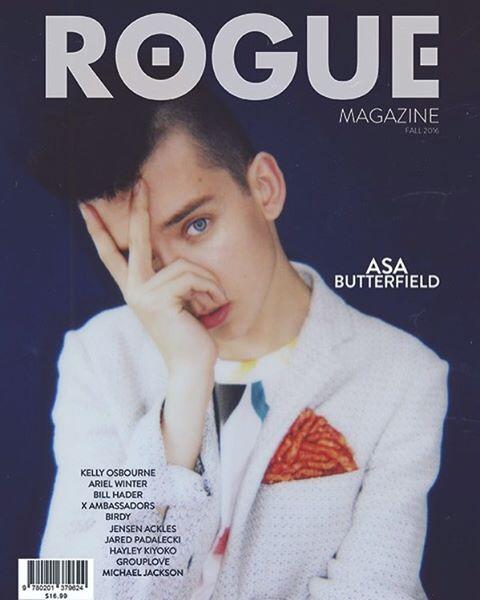 Asa Butterfield ROGUE Magazine