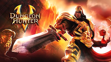 Dungeon Hunter 5 MOD APK [Boost Attack] With Data For Android