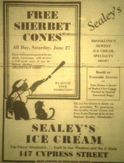 1936 Sealey's ad