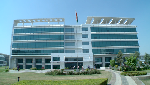 Image Attribute: Front view of HCL Technologies' Noida SEZ Campus, India / Source: Wikipedia