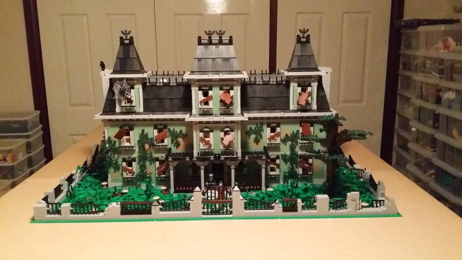 Matt S Lego Fun The Haunted Mansion