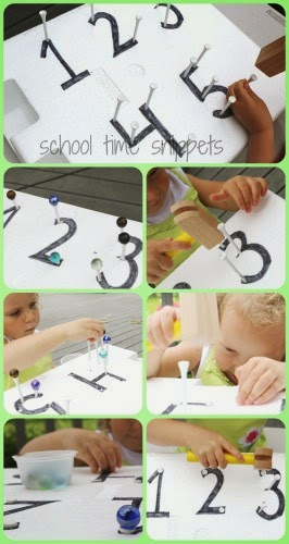 fun fine motor skills counting activity for kids