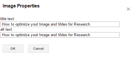How to optimize your Image and Video for Research