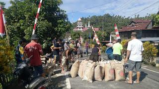 Budaya Gotong Royong, Masih Terlihat Kental di Desa Wakan