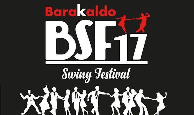 Cartel del festival de swing
