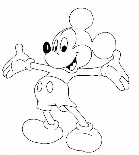 Mickey Mouse Clubhouse Coloring Pages Free Mickey Mouse Coloring Pages  Mickey Mouse Clubhouse Coloring