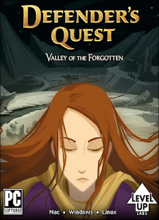 Defender's Quest Valley of the Forgotten+pc+game+cover+art
