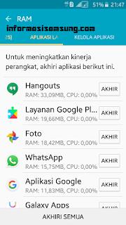Optimalkan kapasitas RAM dengan Samsung Smart Manager