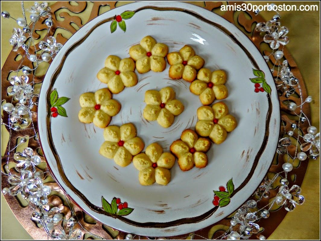 Galletas de Navidad: Spritz Cookies