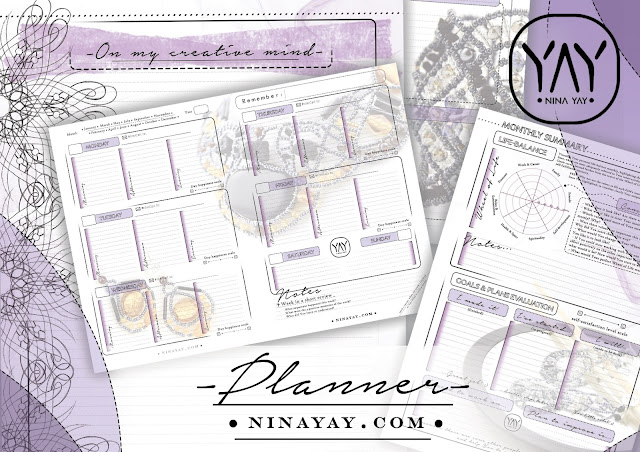THE HIGHLIGHTS - #Life-planner | #printable comprehensive life #planner and bullet journal for 2016, 2017, 2018, 2019, 2020, 2021, 2022, any year planner. Reach your goals and enrich the life with it. Best organizer You will ever find. To-do & shopping lists, schedules, new years resolutions, self reflection sections, personalized pages and much more for such a nice price - $7,99 only! Stay perfectly #organized and go for Your dreams. For more follow www.pinterest.com/ninayay and stay positively #inspired. Available here: http://etsy.me/1JxEQTD